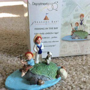 "Dept 56 ""Fishing in the Bay"" Seasons Bay #53313"